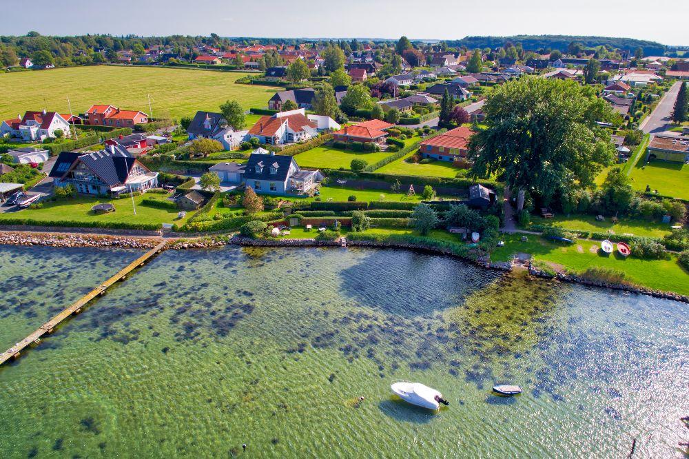 Thurø sund idy fra drone