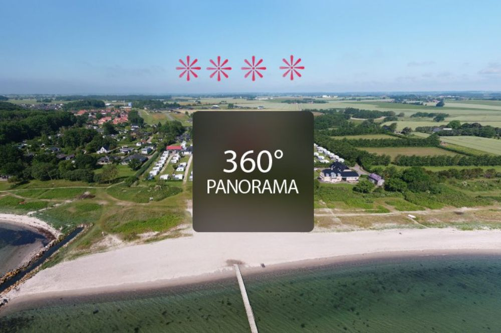 Hou Strandcamping 360° Panorama