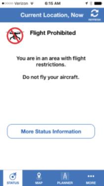 FAA b4ufly screen shot