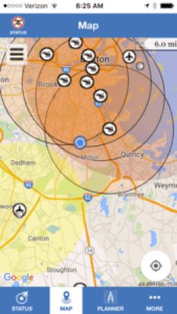 FAA b4ufly screen shot 2