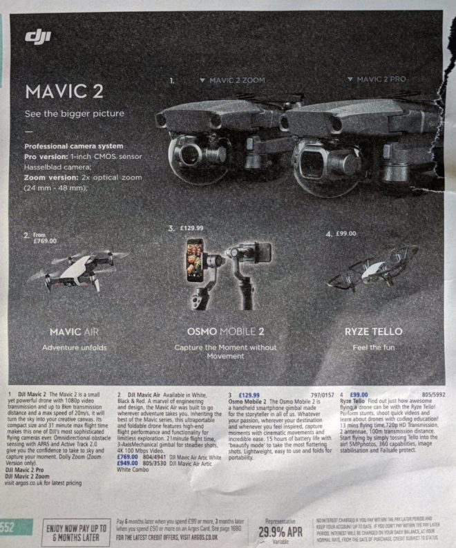 new dji mavic 2 leak