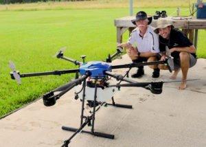 Drones contra mosquitos