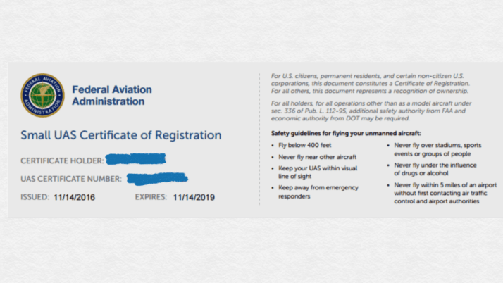 How to Register Your Drone or Quadcopter