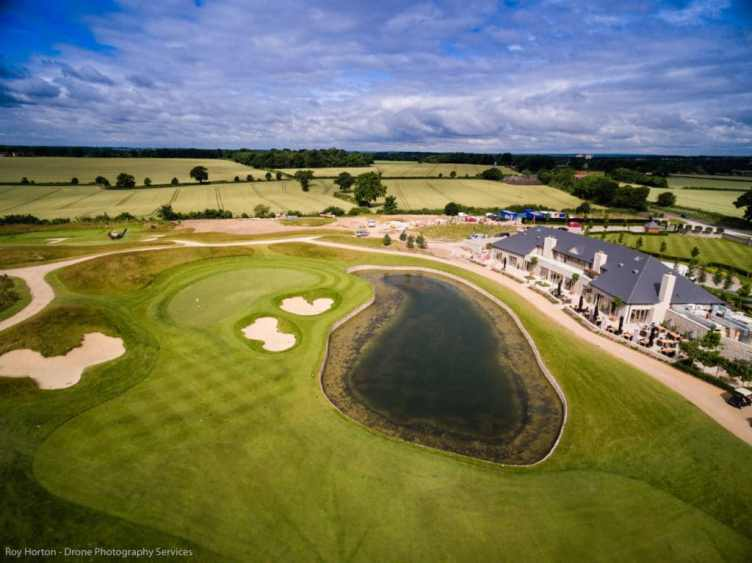 Aerial Filming at The Centurion Club - Drone Photography Services