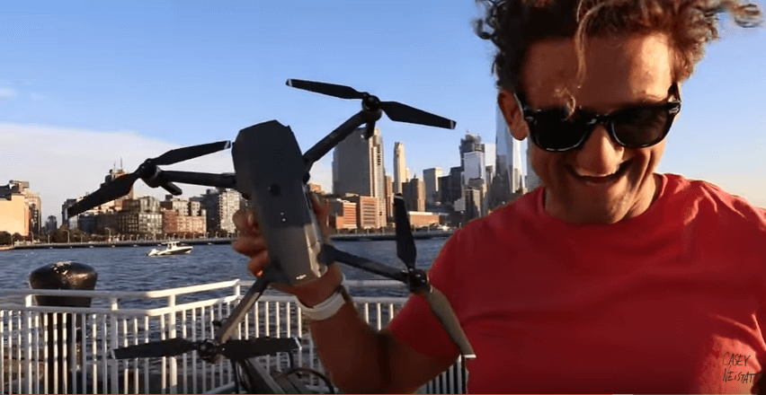 "NEISTAT: DJI Mavic Pro is ""Greatest Drone Ever"""