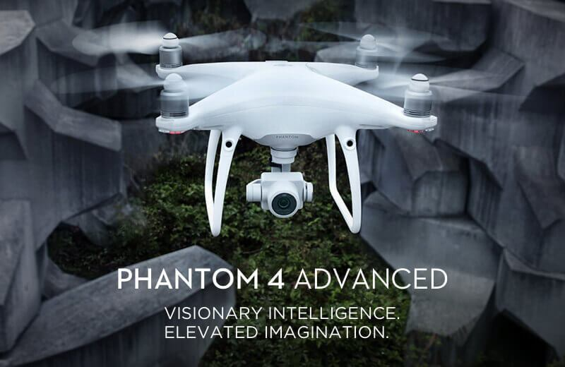 DJI Phantom 4 Advanced Now Available, Ships In 2-3 Weeks