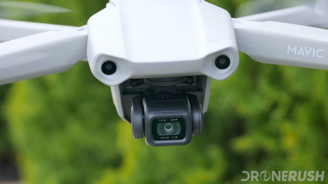 DJI Mavic Air 2 flying camera