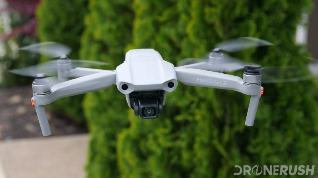 DJI Mavic Air 2 flying front