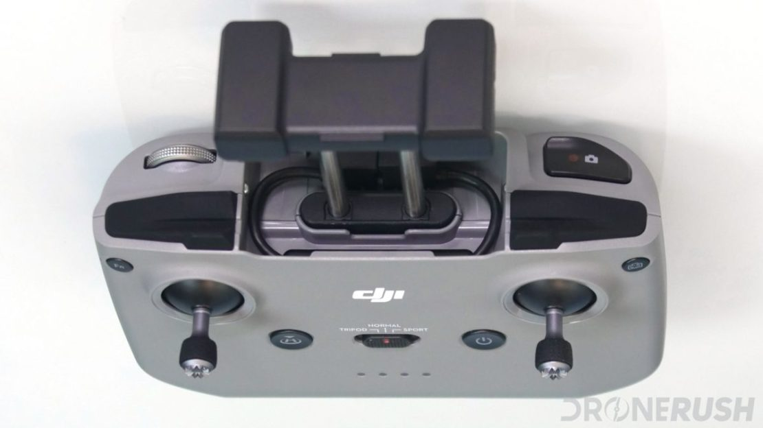 DJI Mavic Air 2 remote top