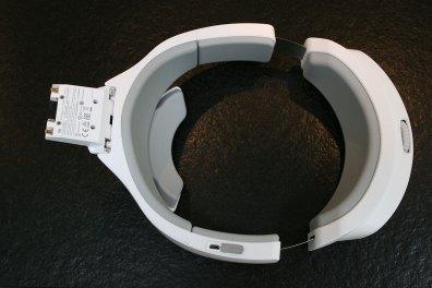 Unterseite des Kopfbandes der DJI Goggles