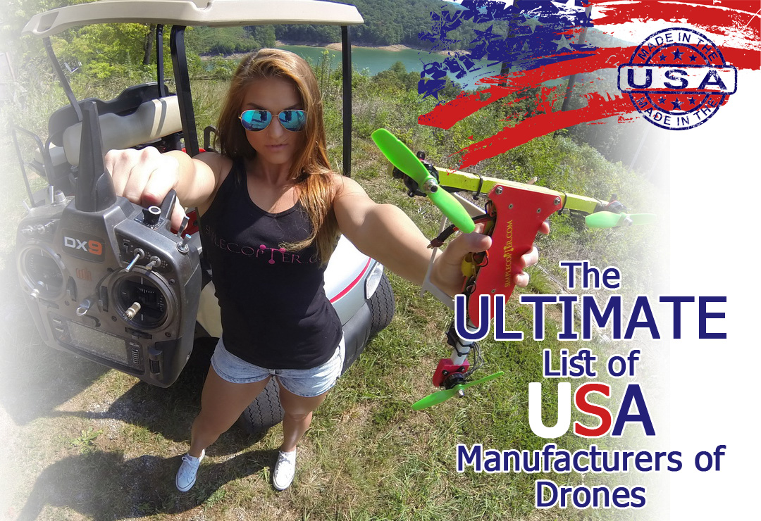 List-drones-manufacturers-in-the-USA