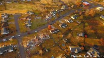 Van Buren Tornado Damage
