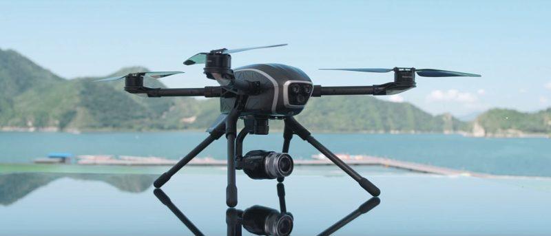 PowerEye 雙鏡頭無人機實現完美雙遙控 航拍•FPV畫面分流圖傳 - DronesPlayer