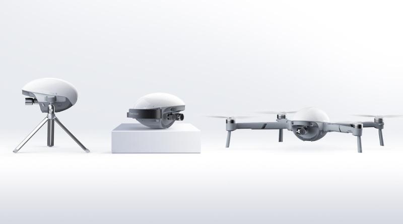 【CES 2020】三合一無人機 PowerEgg X 是手持雲臺亦是空拍機? - DronesPlayer