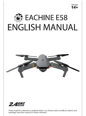 Eachine E58 Manual : eachine, manual, Resource