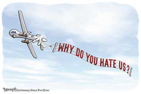 The Drone Wars – No Laughing Matter