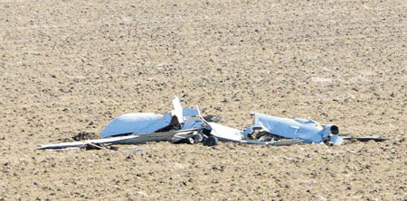 A US Predator drone crashed in Turkey, Feb. 2016