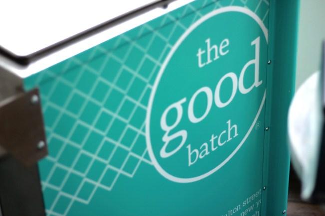 The Good Batch Blue Cart
