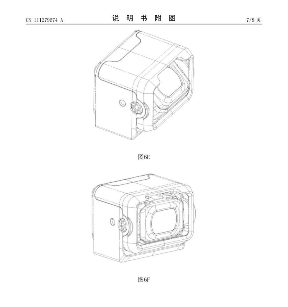 Патенты DJI: камерный модуль и система оптической