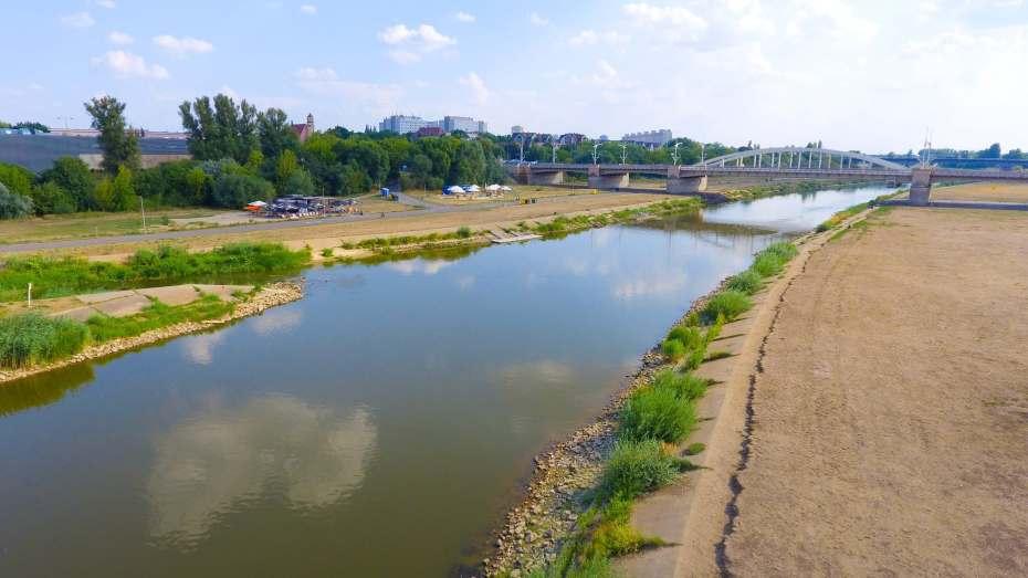 rzeka warta z drona inspekcja Poznan