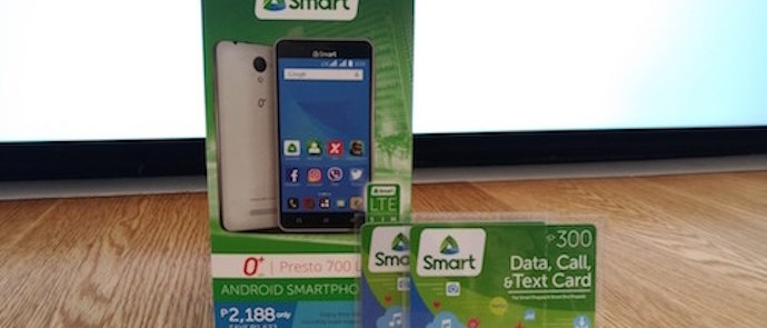 SMART'S Latest Android Smartphone Kit with LTE is the O+ Presto