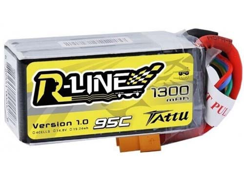 Tattu_R-line_1300mAh_4S_95C_Lipo_battery