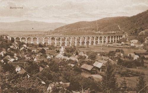 Borovniški most nekoč