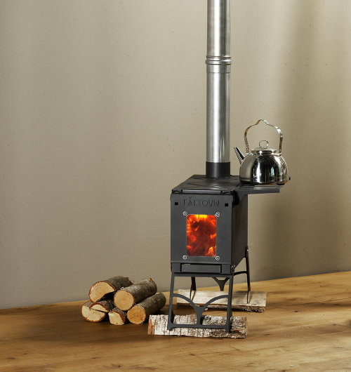 Klein houtkacheltje  Huishoudelijke apparaten voor thuis