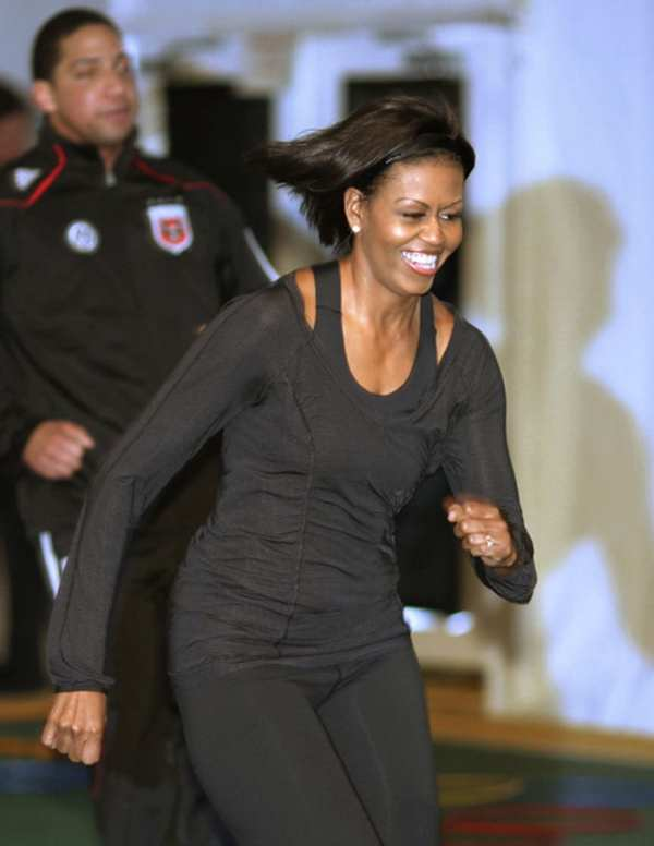 Michelle Obama Likes fashion loves to dance