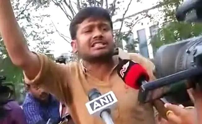 हैदराबाद विश्वविद्यालय के गेट पर ही रोके गए कन्हैया ने लगाए 'कितने रोहित मारोगे' के नारे : दस बातें