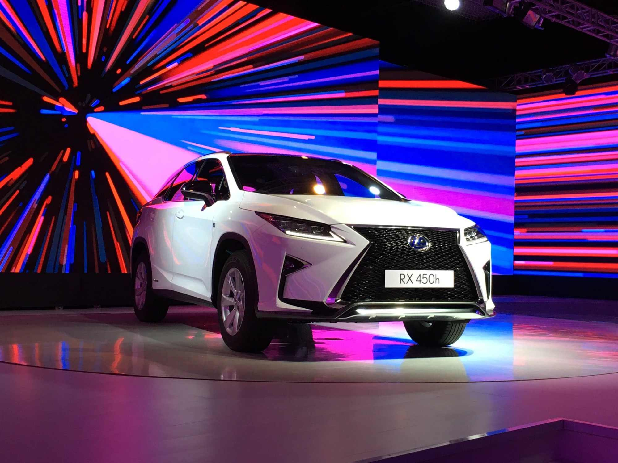 hight resolution of the lexus rx 450h is here the hybrid suv will be the key model to drive the brand s sales in india