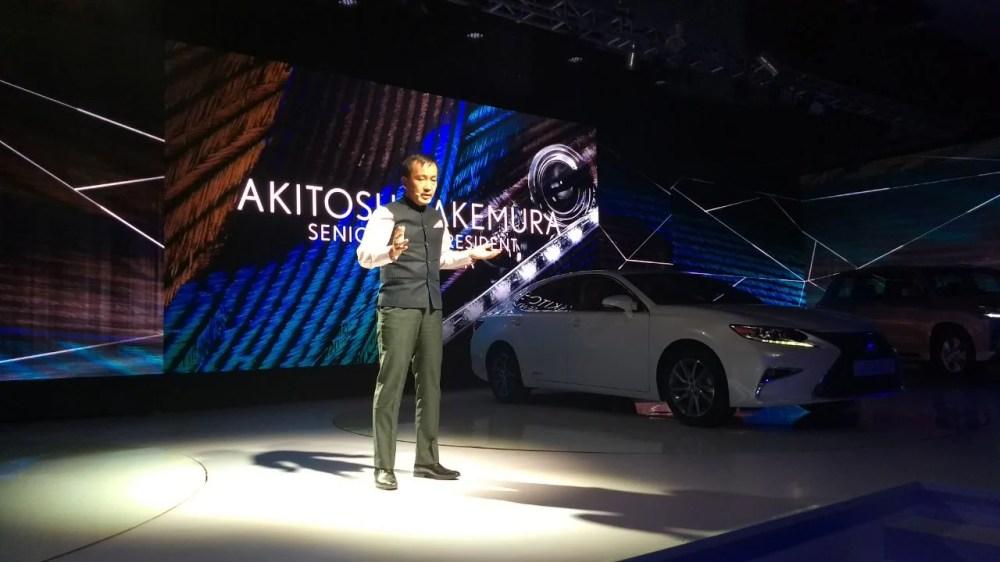 medium resolution of akitoshi takemura senior vice president lexus india talks about the brand s history lexus introduced its first luxury sedan in 1989