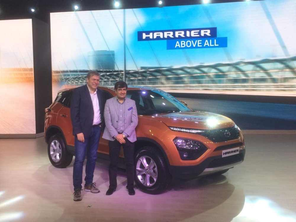 medium resolution of catch all the highlights from the 2019 tata harrier suv launch here