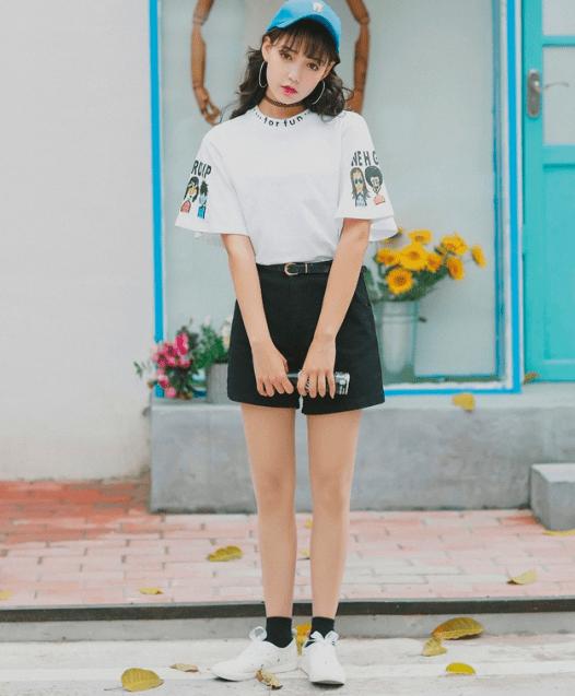 Wishlist as tshirts coreanas mais fofas da internet dropando ideias 13