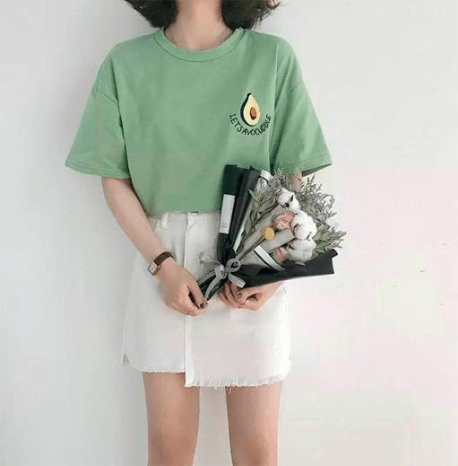 Wishlist as tshirts coreanas mais fofas da internet dropando ideias 8