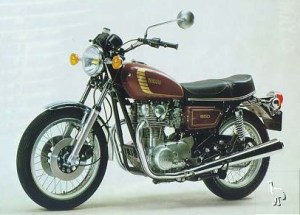 Yamaha 650 Twin  The XS650D