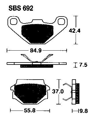 Ducati Brakepads
