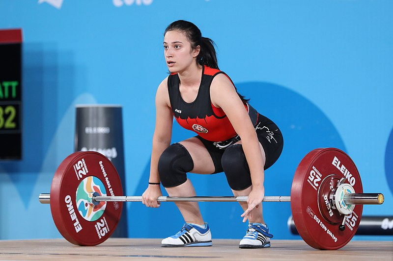 olympic weightlifting - clean and jerk