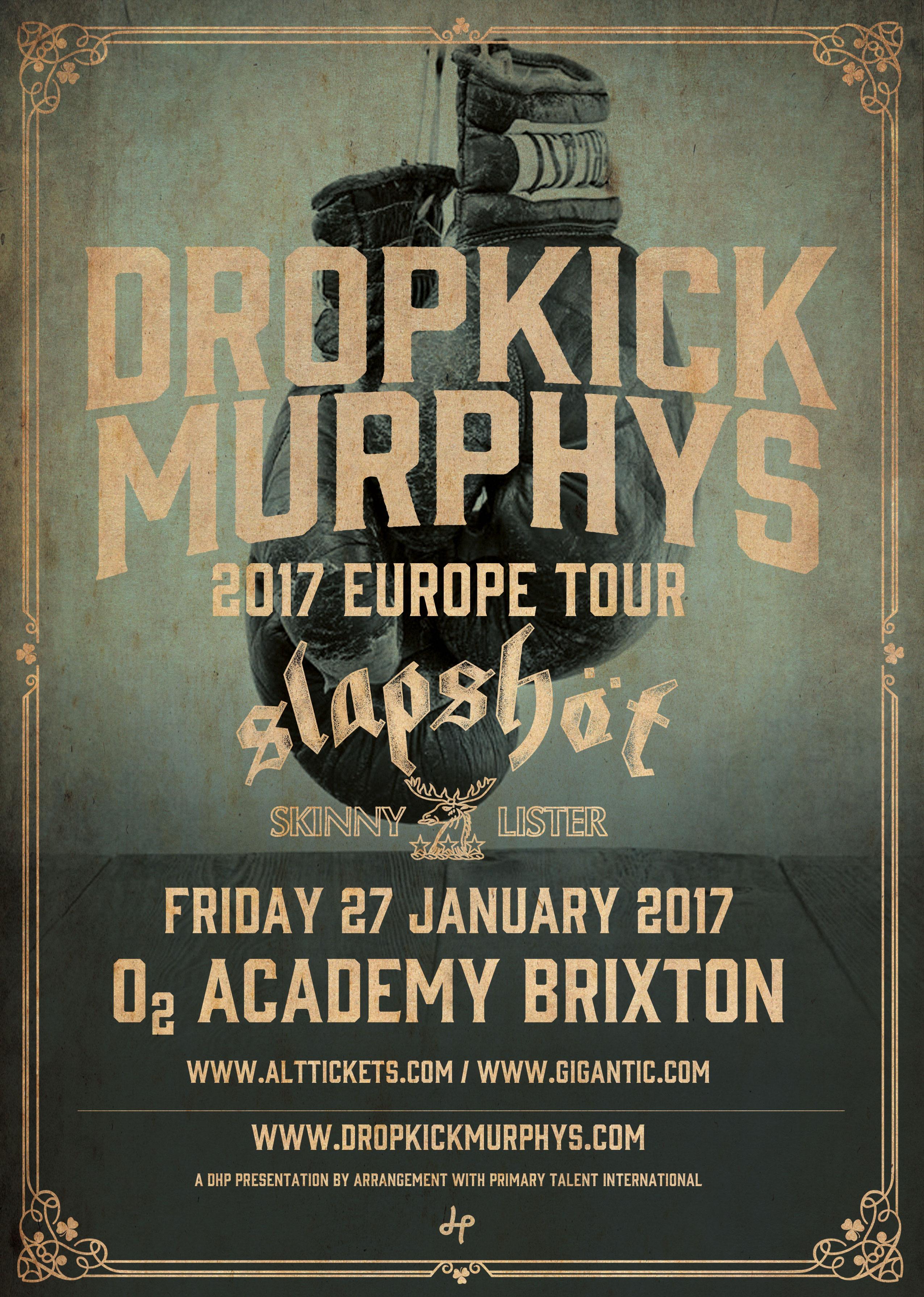 Dropkick Murphys News