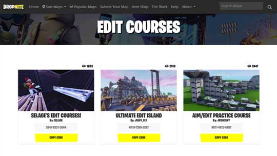 fortnite creative edit course