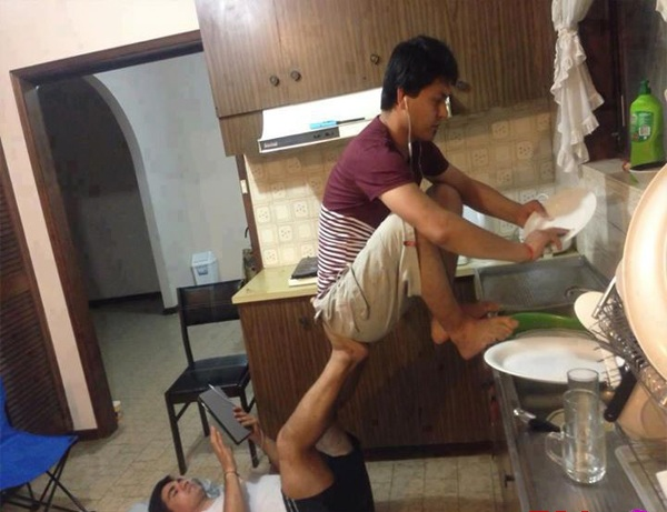 Hostel life friends jugad