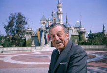 Walt Disney at Disneyland tour Success Story