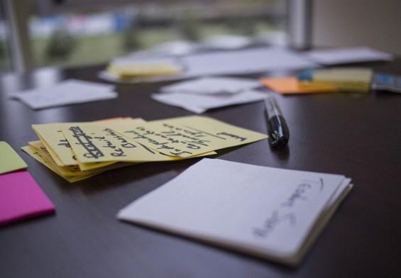 Office Desk at Startup