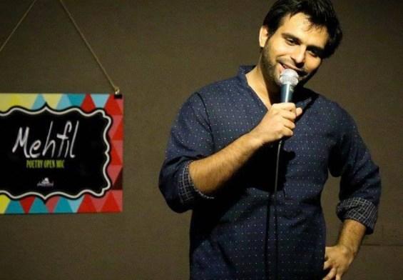 Success story of hindi comedian and poet Arpan Khosla