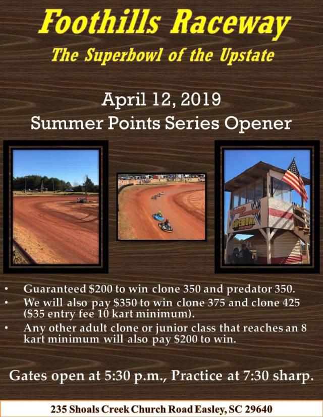 Foothills Flyer Summer Week 1