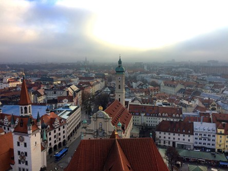 View from the clock tower