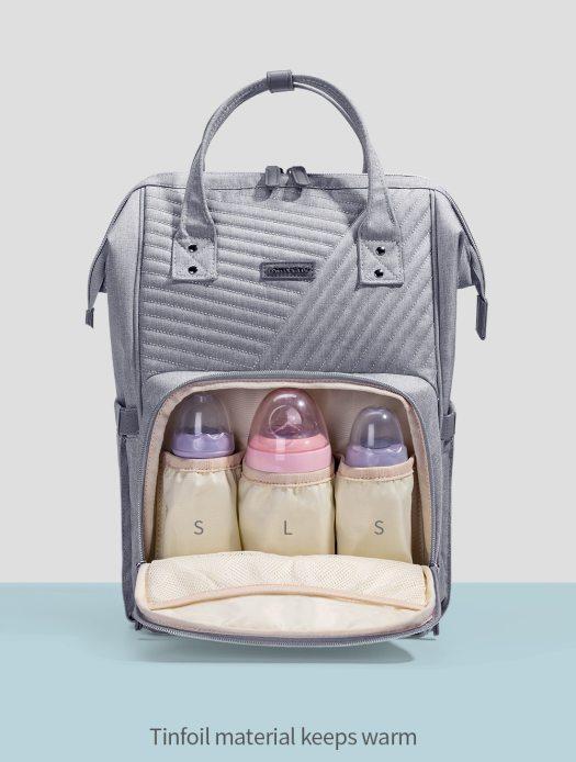Waterproof Nylon Diaper Bag