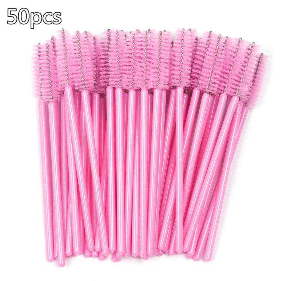 Eyelash Cleaning Brushes 50 pcs Set
