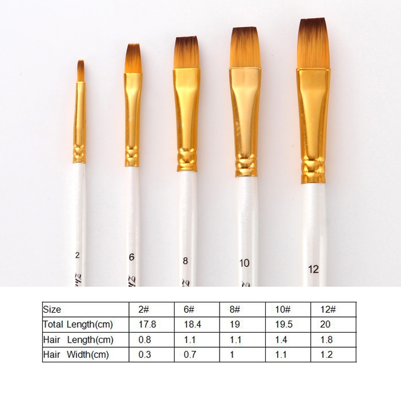 Art Paint Brushes Set