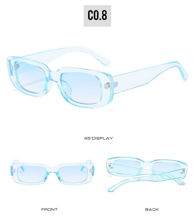 Women's Rectangle Shaped Sunglasses